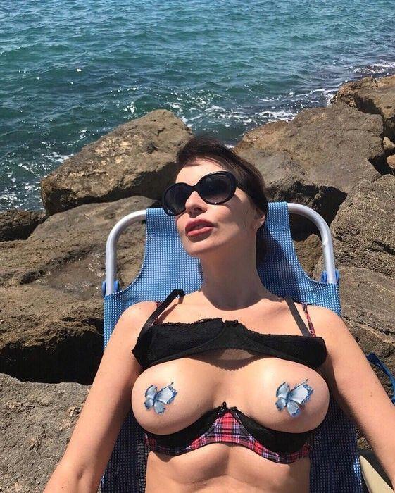 Наталья Штурм пытается немного отдохнуть