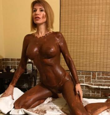 Наталья Штурм в грязи