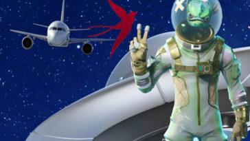 Самолёт, НЛО и пришелец