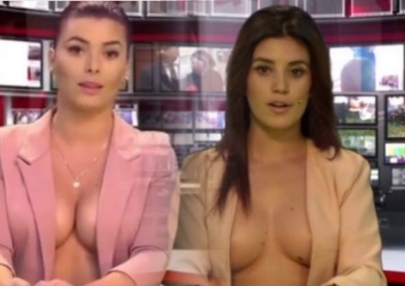 албанские телеведущие девушки