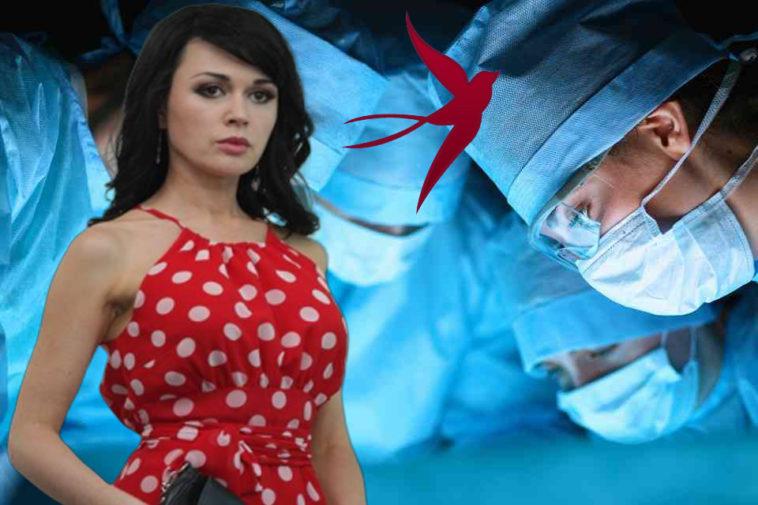 Больной раком Анастасии Заворотнюк уже делали сложную операцию в Германии
