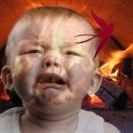 жители хакасии сожгли внука в печи