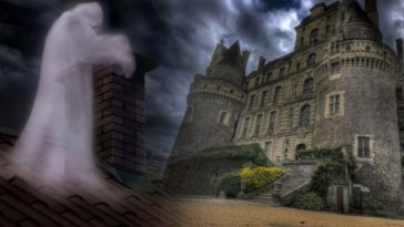 В британском замке удалось снять призрака на камеру: видео