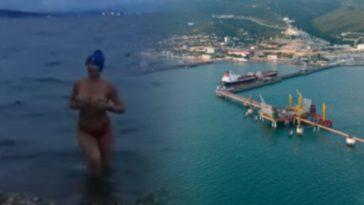 порт и голая девушка из новороссийска