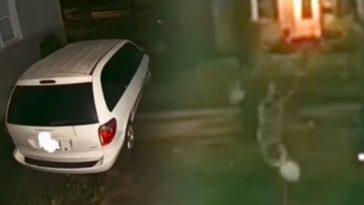 кадр из видео с призраками в сша